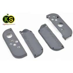 Original dark Grey Housing Shell Case Replacement 4pcs for Nintendo Switch Controller Joy-con