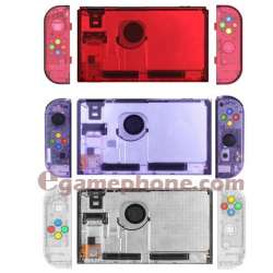 Nintendo Switch Joycons controller  Clear shell