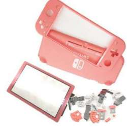 Switch Lite pastel Coral