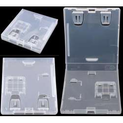 Nintendo DS lite NDS NDSL NDSI Game Card Clear Case Box Storage Box 5pcs