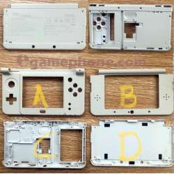 2015 Nintendo New 3DS Replacement set Cover Outside Part Shell Housing