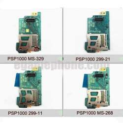 psp 1000 Memory stick card slot module board MS-329/268/299 Headphone interface board replacement