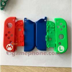 Nintendo Switch custom Mario & Luigi red left Joy-Cons replacement parts
