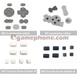 WII Console Screw Rubber Feet