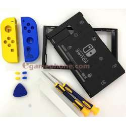 Nintendo Switch Fortnite Special Edition joy con rear housing back shell console replacement