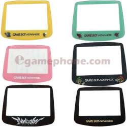 Nintendo Game Boy Advance GBA Lemon pink silver limited edition Glass Screen Lens IPS V2 Screen Lens Panel  Replacement