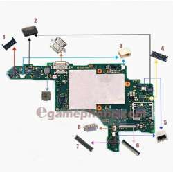 Nintendo switch mainboard FPC connector