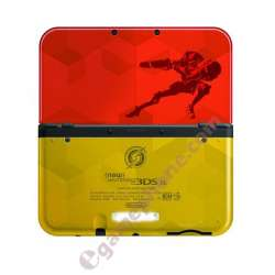 2015 New 3DS XL Samus Edition Metroid Gold Front Bottom Battery cover Shell/Housing New 3DS XL Replacement