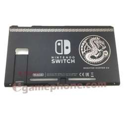 Nintendo Switch Console Monster Hunter XX Limited Edition back Housing Shell Replacement Case