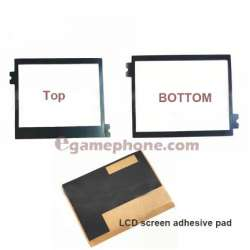 Adhesive pad for nintendo ds lite console TOP bottom LCD touch screen replacement
